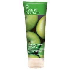 Green Apple and Ginger Conditioner 8 Oz ByDesert Essence. Apply a small amount evenly to your hair. Use with Desert Essence Organics Green Apple & Ginger Shampoo to get optimal results. Desert Essence, Hair Color Shades, Moisturize Hair, Sunflower Oil, Smooth Hair, Green Hair, Jojoba Oil, Down Hairstyles, Fine Hair