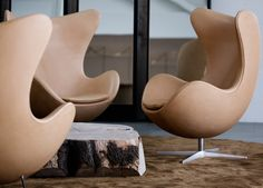 História da Poltrona Egg de Arne Jacobsen.