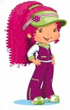 Meet Strawberry Shortcake: Then & New Raspberry Hair, Raspberry Torte, Raspberry Color, My Little Pony, Little Girls, Strawberry Shortcake Characters, Pet Monkey, Famous Cartoons, Pink Panthers