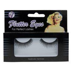 W7 Flutter Eyes - False Eyelashes - FL033: Amazon.co.uk: Beauty £3