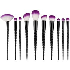 Niceskin Eye Shadow Makeup Brushes Tool for Cosmetic, 10 Pcs / Set * Details can be found by clicking on the image. (This is an affiliate link) #MakeupBrushesTools