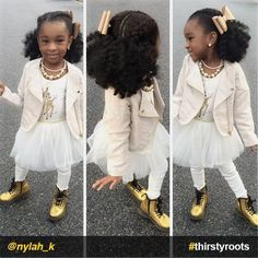 20 Cute Natural Hairstyles for Little Girls From pony puffs to decked out cornrow designs to braided styles, natural hairstyles for little girls can be the cutest added bonus to their precious little faces. Cornrow Designs, Lil Girl Hairstyles, Natural Hairstyles For Kids, Kinky Hairstyles, Gray Hairstyles, Stylish Hairstyles, Crown Hairstyles, Braids For Kids, Girls Braids