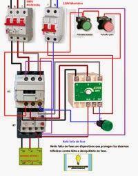 Esquemas eléctricos: Relé falta de fase