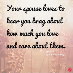It's okay to let people know how much you love your spouse. #love #marriage…