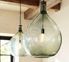 Clift Oversized Pendant Lighting   Pottery Barn