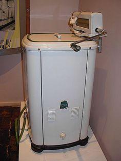 Vintage Washing Machine.