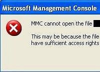 MMC Cannot Open The File Error (SOLVED) #mmc #could #not #create #the #snap-in #windows http://japan.remmont.com/mmc-cannot-open-the-file-error-solved-mmc-could-not-create-the-snap-in-windows/  # Windows Error: MMC Cannot Open The File Written on January 7th 2010 at 08:40. Last modified: January 21, 2011 Microsoft Management Console causing problems with some snap ins When you try to launch a Microsoft Management Console Snap-in file (.msc file) you receive the error MMC cannot open the file…