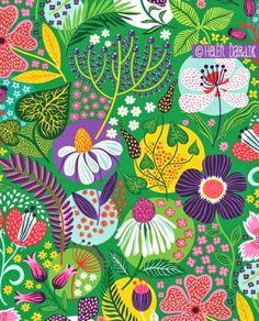 patternprints journal: OVERTIME AND FUN CONVERSATIONAL PATTERNS BY HELEN DARDIK