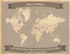 Free Printable Family Travel Maps