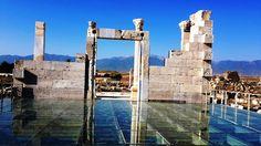 The Temple dedicated to Artemis & Apollon. Laodicea on the Lycus ,Denizli,Turkey