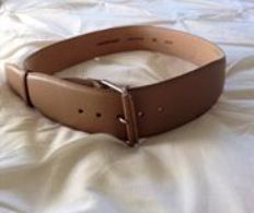Country road leather belt