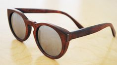 wood leonard w/mirrored lens