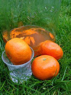 Zapach rozmarynu: Nalewka mandarynkowa na rumie