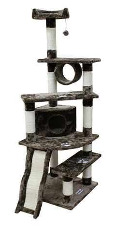 Kitty Mansions Shanghai Cat Tree >>> Don't get left behind, see this great cat product : Cat Beds and Furniture
