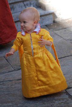 ca. 1610 #kids #garb, silk satin...or perhaps this