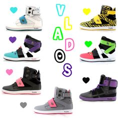 Women Vlados. Yellow ones are my personal favorites.