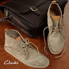 Take a look at the Clarks Men event on zulily today!