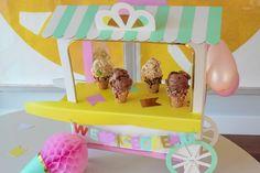 DIY Sprinkle Cones via Honesttonod.com
