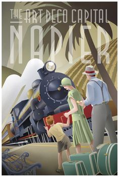 60 Inspiring Designs in the Style of Art Deco Travel Posters Art Deco Glamour von Stephen Fuller Retro Poster, Poster Art, Kunst Poster, Art Deco Posters, Vintage Travel Posters, Art Deco Illustration, Illustration Styles, Digital Illustration, Art Nouveau