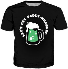 Paddy-Whacked Classic Black T-Shirt