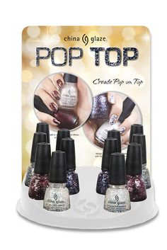 China Glaze 'Pop Top' Collection