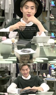 The epic tale of Suho and his script cards