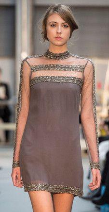 Vestidos de Festa   A beleza das rendas mineiras e suas transparências   Minas Trend Inverno 2014