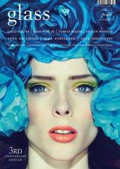 Coco Rocha in Glass Magazine - 3rd Anniversary Edition  By Jason Hetherington Photography