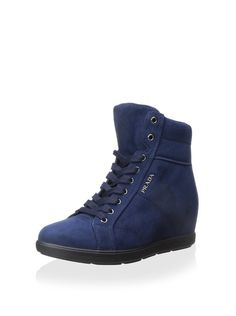 Prada Linea Rossa Women's Wedge Sneaker at MYHABIT