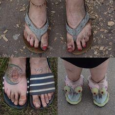 Schuhe gehen immer, aber nicht immer passend. Beim Deichbrand gibt es die ganze Palette. Fotos Maffiotte Flip Flops, Palette, Sandals, Sneakers, Shoes, Pictures, Tennis, Shoes Sandals, Slippers