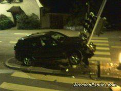 BMW X-Series X5 crashed in Zurich, Switzerland