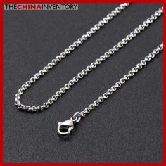 GIRLS 36` STAINLESS STEEL CABLE CHAIN NECKLACE N2607 Stainless Steel Cable, Wholesale Jewelry, Body Jewelry, Sterling Silver Jewelry, Fashion Jewelry, Horse, Pendants, Wallet, Chain