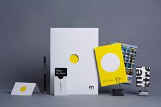 Logo and stationery created for Tel aviv hotel Mendeli Street designed by Koniak