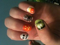 Banging' Halloween Manicure :)
