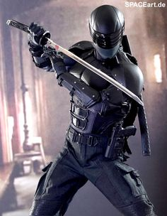 G.I. Joe - Snake Eyes - Deluxe Figure, absolutely fantastic work from Hot Toys. #actionfigure to be released 3rd term 2013