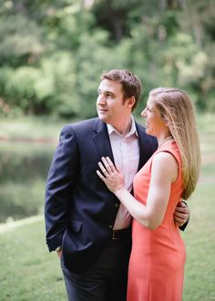 Preppy Savannah engagement. See more on Savannah Soiree. http://www.savannahsoiree.com/journal/preppy-savannah-engagement