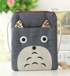 Fashionable Totoro Coin Purse / Mobile bag - TrendyHQ