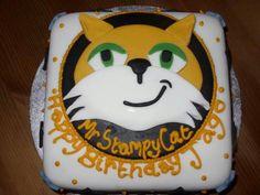 Cute birthday cake! Stampy