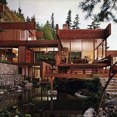 the graham house by arthur erickson..