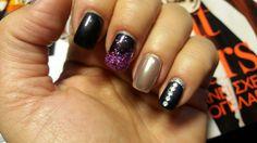 #shellac_nails #sparkle