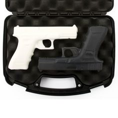 Soap Gun Gift Set 'Spy vs. Spy' with Case by Soap Weapons