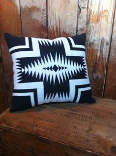 navajo blanket throw pillow