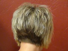 stacked haircuts | Short Stacked Haircut with Straight Bangs | Boys and Girls Hair Styles
