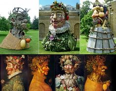 Philip Haas and the Four Seasons (Arcimboldo)