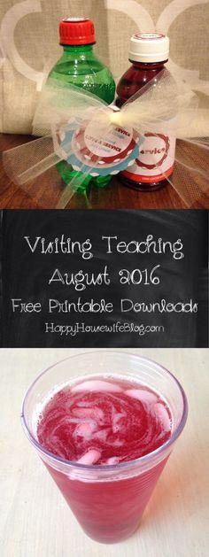 Visiting Teaching Handout August 2016