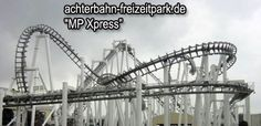 The MP express is a coaster with a lot of loops and twists. In Movie park Germany.