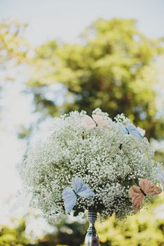 A Romantic Capella Wedding filled with Baby's Breath: Dylan and Robyn