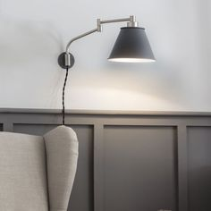 Garden Trading Westport Adjustable Wall Light in Charcoal - Fitting & Style from Dusk Lighting UK Lighting Uk, Bedroom Lighting, Kitchen Lighting, Bedside Lighting, Interior Lighting, Lighting Ideas, Interior Ideas, Indoor Wall Lights, Ceiling Lights