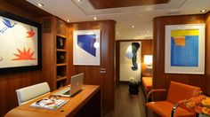 Check this amazing yacht interior. For more great yacht pictures, or to get info about this model, visit www.luxurysafes.me/blog/