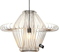 Kleiderbügel Lampe